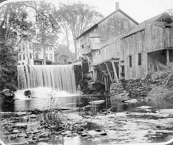Looking Upstream at Marcy Hollows Mills 1890's