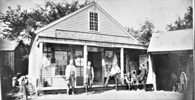 Pomfret Landindg Store and PO before 1895 183