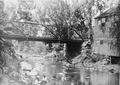 After 300s Pomfret Landing Cotton Bridge Known as Shaking Mamie  Sept 1904-R1