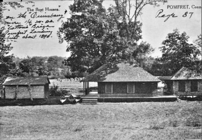 Yatch Club at Pofret Landing about 1890