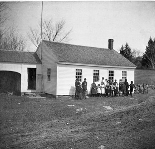 Jericho School 1905 on North Side of Jericho Rd- Class Names Available