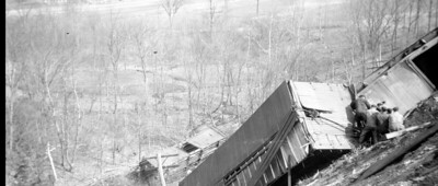 1918 Train Wreck Recovery  Effort 2005