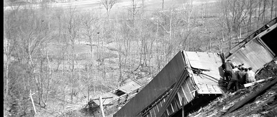 1918 Train Wreck Recovery  Effort 2 1918