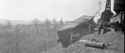 1918 Train Wreck Recovery Effort