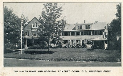 The Haven Hospital around 1940